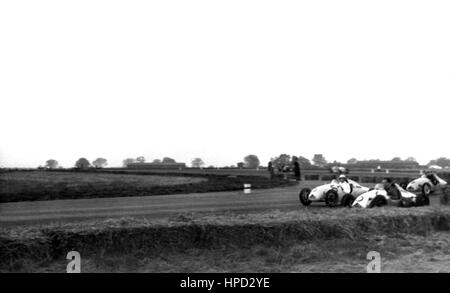 1950s Cooper 500s Silverstone - Stock Image