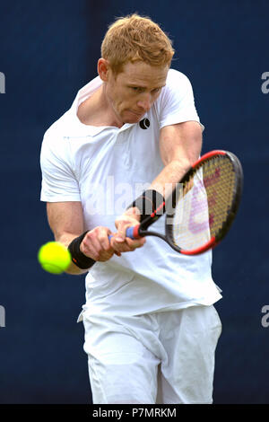 Edward Corrie, professional male tennis player from the United Kingdom. - Stock Image