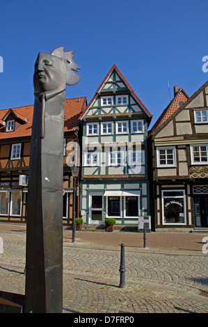 Germany, Lower Saxony, Celle, Old Town - Stock Image