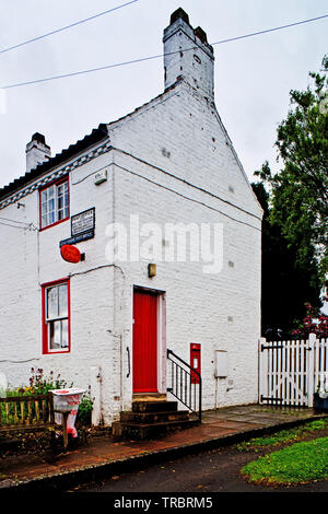 Crathorne Post Office, Crathorne, North Yorkshire, England - Stock Image