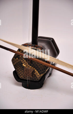 Two-string chinese violin, the erhu - Stock Image