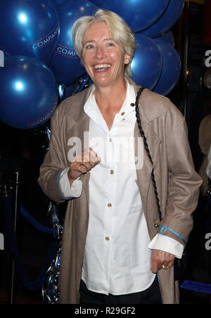 Company - opening VIP night at the Gielgud Theatre, Shaftesbury Avenue, London  Featuring: Dame Emma Thompson Where: London, United Kingdom When: 17 Oct 2018 Credit: WENN.com - Stock Image