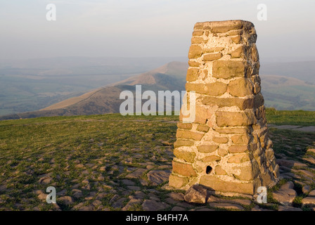 Mam Tour Ridge in the Peak District National Park Derbyshire England UK GB - Stock Image
