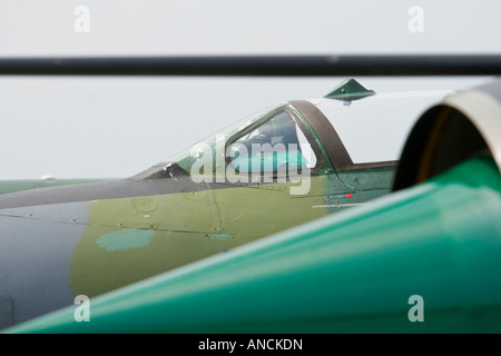 Croatian Air Force MiG-21 BISD fighters nose and cockpit detail - Stock Image