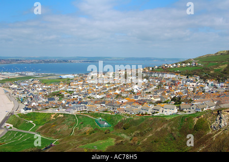 Fortuneswell Portland Dorset - Stock Image