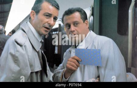 Original Film Title: LA NOCHE MAS LARGA.  English Title: THE LONGEST NIGHT.  Film Director: JOSE LUIS GARCIA SANCHEZ.  Year: 1991.  Stars: JUAN ECHANOVE; JUAN DIEGO. - Stock Image