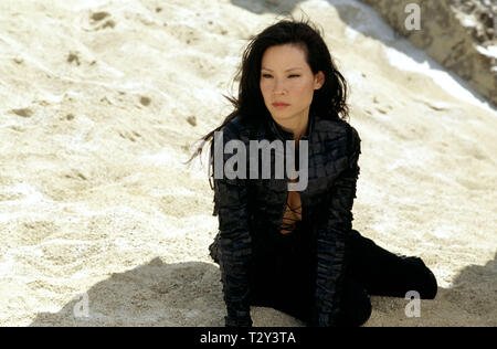 LUCY LIU, CHARLIE'S ANGELS: FULL THROTTLE, 2003 - Stock Image