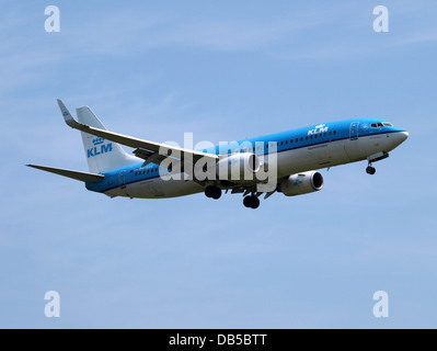 PH-BXK KLM Royal Dutch Airlines Boeing 737-8K2(WL) - cn 29598 3 - Stock Image