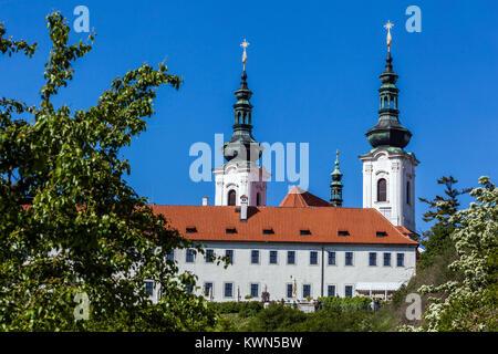 Strahov Monastery Prague, Czech Republic - Stock Image
