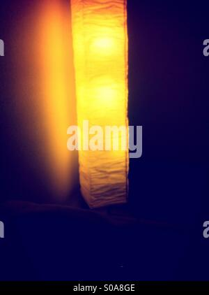 Indoor lamp shade - Stock Image