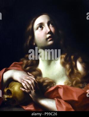 Santa Maria Maddalena - St. Mary Magdalene by Carlo Cignani 1628-1719,Italy ,Italian - Stock Image