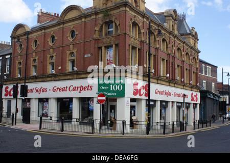 SCS Sofa Carpet Specialist Store, Borough Road, Sunderland. - Stock Image