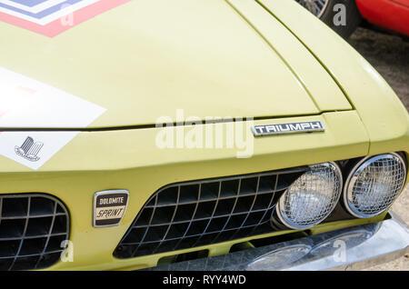 Triumph Dolomite Sprint. - Stock Image