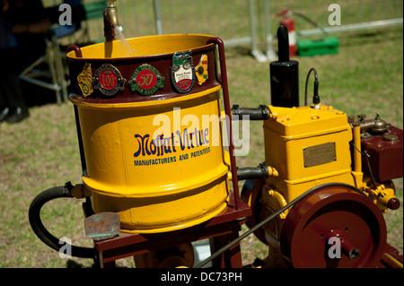 Circa 1940 Moffat Virtue 3 HP petrol engine - Stock Image