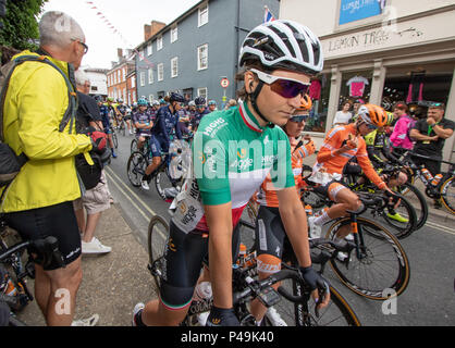 Elisa Longo Borghini Italian national road race champion - Stock Image