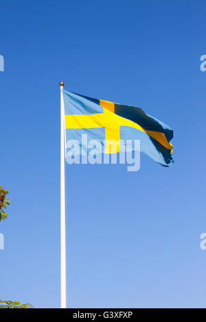 Flag Sweden - Stock Image