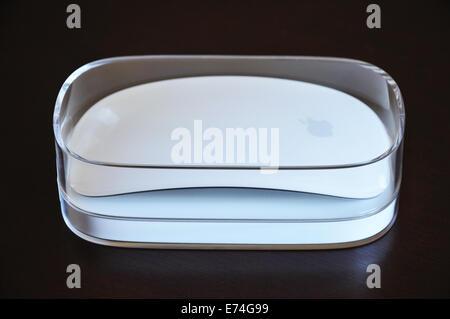 Apple Magic mouse - Stock Image