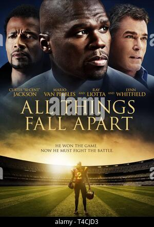 PEEBLES,CENT,POSTER, ALL THINGS FALL APART, 2011 - Stock Image