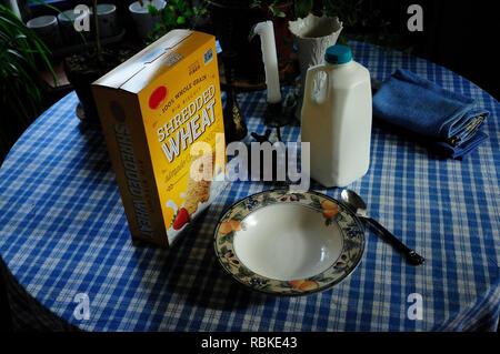 Breakfast still life. - Stock Image