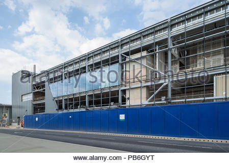 Ikea Greenwich construction - Stock Image