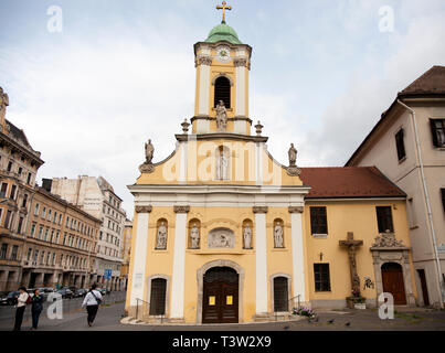 BUDAPEST, HUNGARY - SEPTEMBER 20, 2017: Saint Rokus Kapolna church - Stock Image