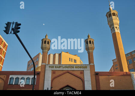 east london mosque - Stock Image