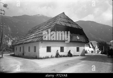 21 Hiša v Kranjski Gori (2) - Stock Image