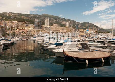 Hercule Harbor, Monaco, France, EU - Stock Image