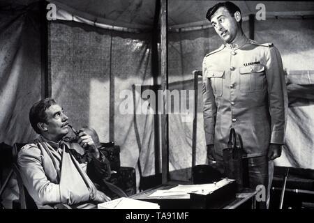 SOLDIERS THREE (1951)  WALTER PIDGEON  STEWART GRANGER  TAY GARNETT (DIR)  MOVIESTORE COLLECTION LTD - Stock Image