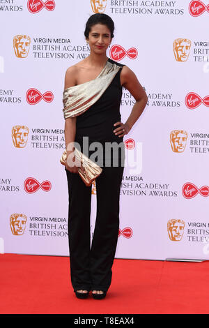 LONDON, UK. May 12, 2019: Konnie Huq arriving for the BAFTA TV Awards 2019 at the Royal Festival Hall, London. Picture: Steve Vas/Featureflash - Stock Image