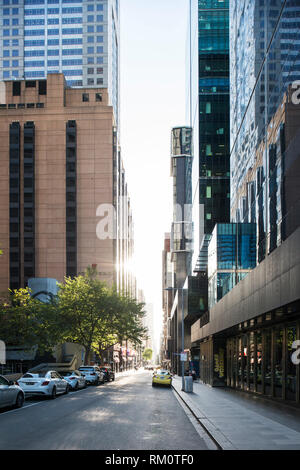 Melbourne architecture and surroundings. - Stock Image