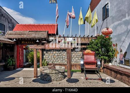 Chinatown Thailand, Huay Yai , Pattaya, Thailand, Southeast Asia - Stock Image