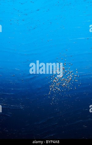 Bubbles in Water - Stock Image