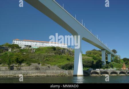 São João Railway Bridge, Porto, Portugal -1 - Stock Image
