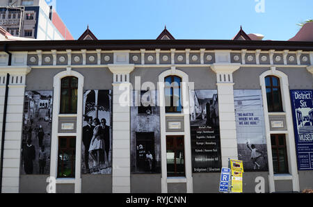 The District Six Museum in Cape Town. - Stock Image