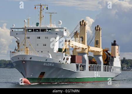 Heavy lift vessel Gloria - Stock Image