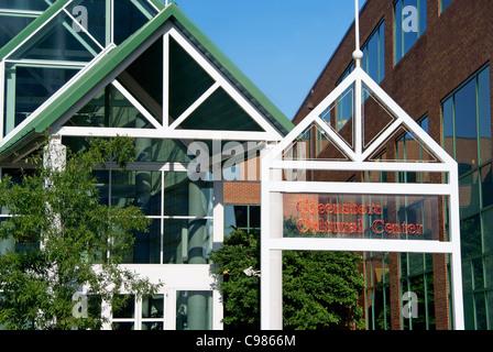 Greensboro Cultural Center, NC, North Carolina - Stock Image