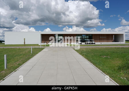 The White Beach Golf course designed architect Kosti Kuronen. Audru, Valgerand, Pärnu county, Estonia - Stock Image
