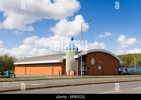Police station exterior at Middlebrook, Horwich near Bolton. - Stock Image