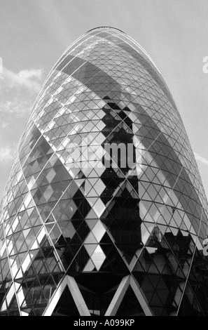 Swiss Re Tower London - Stock Image