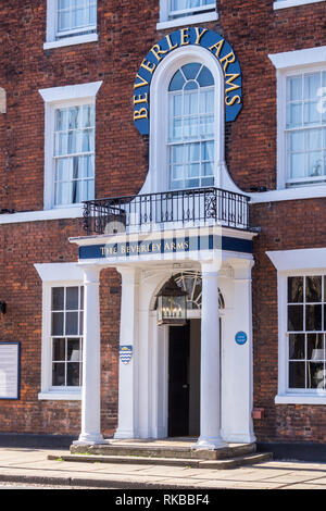 Beverley Arms Hotel, North Bar Without, Beverley, East Riding, Yorkshire, England - Stock Image