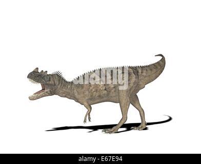 Dinosaurier Ceratosaurus / dinosaur Ceratosaurus - Stock Image