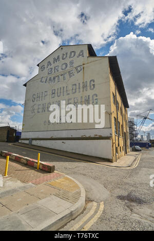 samuda brothers London east end industry - Stock Image