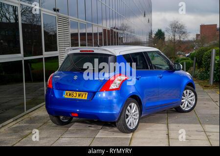 2014 Suzuki Swift SZ-L hot hatch compact car - Stock Image