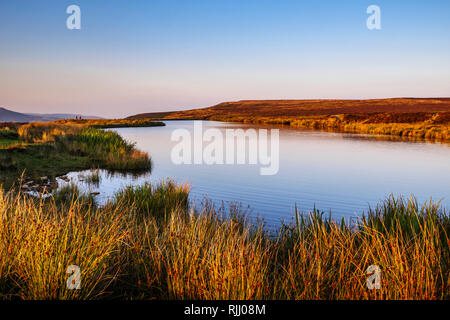 Keeper's Pond Brecon Beacons National Park Blaenavon Wales - Stock Image