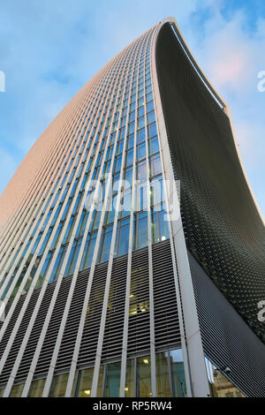 Walkie Talkie Building, City of London, UK - Stock Image