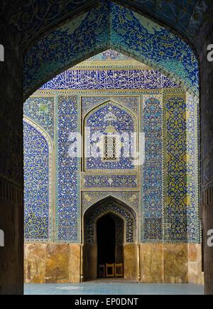 Imam Mosque, Imam Square, Esfahan, Iran - Stock Image