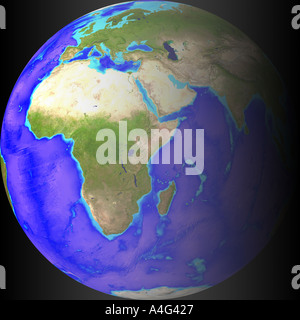 globe day night - Stock Image