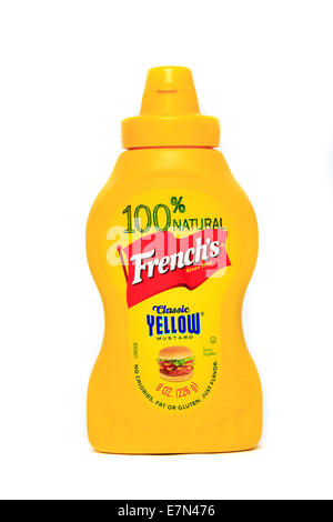 French's Classic Yellow Mustard - Stock Image