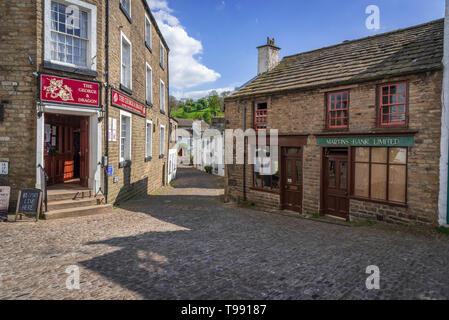 Dent village, Cumbria. - Stock Image